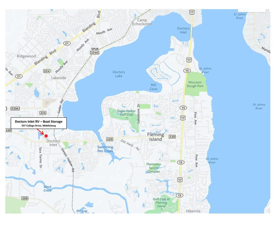 Map doctors lake
